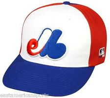 Montreal Expos MLB OC Sports Hat Cap Cooperstown Red White Blue M Team Logo
