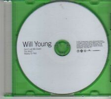 (DE905) Will Young, Don´t Let Me Down / You And I - 2002 DJ CD