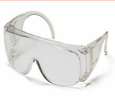 North by Honeywell Safety Visitor Goggles Clear Lens Lightweight 12 Pairs NEW!