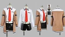 Steins ; Gate Kurisu Makise Cosplay Costume