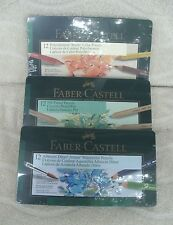 Faber Castell® Set Of 3 Artists Pencil Kits In Beautiful Tins ~ NEW