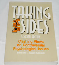 Taking Sides Clashing Views on Controversial Psychological Issues 7th Edition