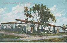 C653 1915 POSTCARD SAN DIEGO CA RAMONA MARRIAGE PLACE  L63 CARD NO