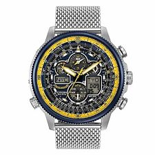 Citizen Navihawk A-T Chronograph Perpetual Men's Watch JY8031-56L