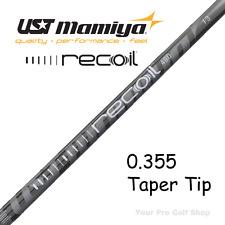 New 7 Shafts 4-PW 0.355 Taper UST Mamiya Recoil 460 F4 Irons Shafts Stiff Flex