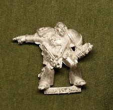 Warhammer 40k Space Marine veterano Sargento con auspex-Metal-Sin Pintar
