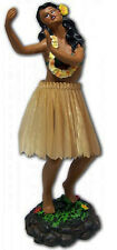 Hawaiian Dashboard Hula Girl Doll Dancing Pose Aloha Hawaii island NIB