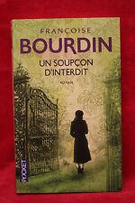 Un soupçon d'interdit - Françoise Bourdin