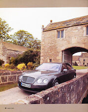 2006 Bentley Continental Flying Spur Original Car Review Print Article J345