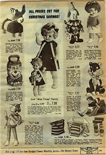 1969 ADVERTISEMENT Doll Wee Three Tom Jerry Patootie Thumbelina Newborn Toddler
