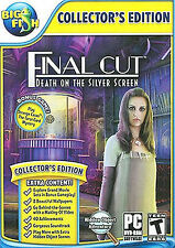 FINAL CUT - DEATH ON SILVER SCREEN - COLLECTOR'S EDITION - XP/VISTA/7/8 PC GAME