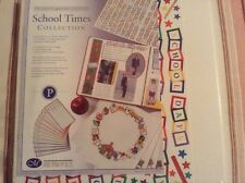 CREATIVE MEMORIES SCHOOL TIMES COL 12 x 12 OLD STYLE PAGES NIP