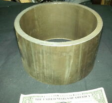"Wood Stove 6"" Stove Pipe Weld on 3/8"" extra thick walled Steel Collar 4"" Long"