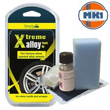 Xtreme Alloy Wheel Chip /Refurb Kit - Tri-Flake Metallic SIlver Wheel Chip KIt