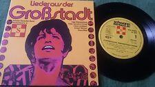 """7"""": Inge Brandenburg - Lieder aus der Großstadt EP - Schwann - 1972 - Top Rar!!!"""