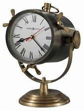 635- 193  VERNAZZA -HOWARD MILLER SPOTLIGHT-STYLE MANTEL CLOCK