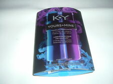 K-Y YOURS + MINE COUPLES LUBRICANT HIS & HERS LUBE KIT EXCITES AND DELIGHTS