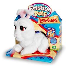 Emotion Pets Little Cuddles Mini Milky The Bunny Soft Toy - New