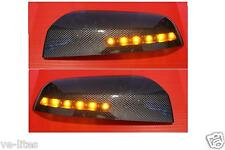 Commodore VF LED Carbon Fiber Mirror Covers SS SV6 SSV Caprice HSV GTS Maloo