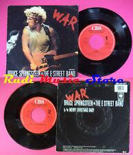 LP 45 7'' BRUCE SPRINGSTEEN & THE E STREET BAND War Merry christmas*no cd mc dvd