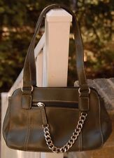 Worthington Olive Green Faux  Leather Small Bag /  Handbag