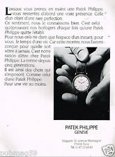 Publicité advertising 1990 La Montre Patek Philippe