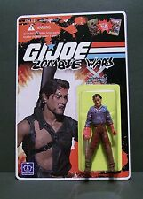 "Custom GI Joe figure and package of ""Zombie Wars"" ASH from army of darkness"