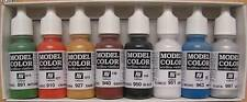 Vallejo Wargames Basics Model Color acrylic paint set # 70103