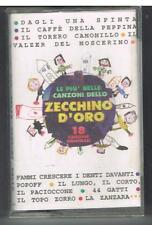 LE PIU' BELLE CANZONI DELLO ZECCHINO D'ORO - 18 CANZONI ORIGINALI - FONIT - MC