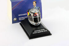 S. Vettel Red Bull GP Abu Dhabi Formula 1 World champion 2010 Helmet 1:8