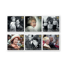 UK HM The Queen's 90th Birthday Stamp Set MNH 2016