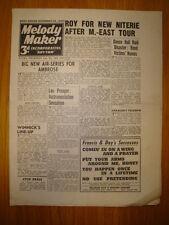 MELODY MAKER 1943 #539 JAZZ SWING MUSIC AMBROSE
