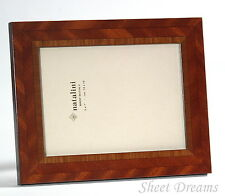 Natalini Hand Made in Italy Marquetry Wood 5x7 Photo Picture Frame New