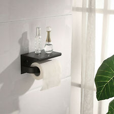Bathroom Toilet Tissue Paper Holder Storage 304 Stainless Steel Wall Mounted