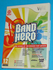 Band Hero - Nintendo WII - PAL