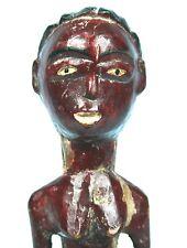 Art Africain Très Ancien Colon Baoulé - Pièce Soclée - Collectionneur d'Afrique