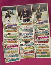 24 X 1977-78 OPC NHL PLAYERS  GOOD CARD  (INV# 9835)