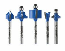 Dremel TR780 5-piece Specialty Router Bit Kit , New, Free Shipping