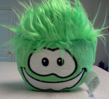 "Disney Club Penguin Puffle Green 4"" Plush Toy - No Coin"