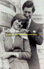 mm0091 - Lady Diana Spencer & Prince Charles - photograph