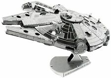Millennium Falcon: Metal Earth 3D Laser Cut Star Wars Miniature Model Kit 2 shee