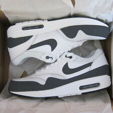 New NIKE Mens Shoes AIR MAX 1 Essential Size 10 White Dark Grey