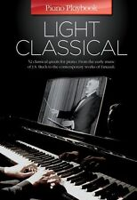 Piano Playbook Light Classical DEBUSSY Grieg CHOPIN Handel Keyboard Music Book
