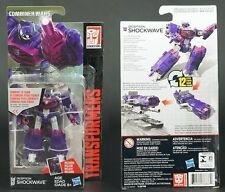 boxed Hasbro TRANSFORMERS SHOCKWAVE 100% complete MIB FREE SHIPPING
