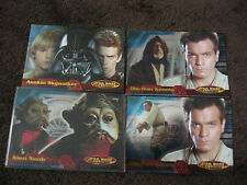 STAR WARS  EVOLUTION PROMO CARDS P1 P2 P3 P4 from San Diego Comic Con SDCC MINT