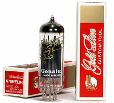 GENALEX REISSUE N709/EL84 (Matched Pair ) 2 Tubes