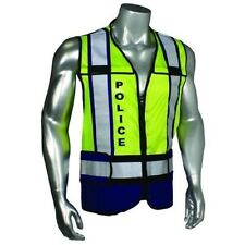 Smith & Wesson Police Blue Reflective Mesh Safety Work Vest SVSW031-2X/4X
