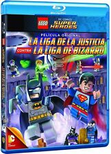 Lego: DC Comics - Super Heroes:Justice League vs Bizarro League - Blu Ray Disc -