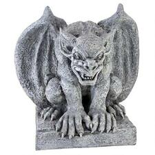 Medieval Bat Winged Gothic Fierce Gargoyle Sentry Statue