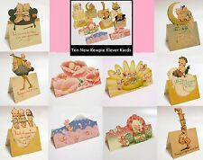 10 Kewpie Klever Kards Each Different - Kewpies - New Post Cards Rose O'Neill